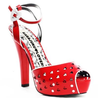 Červené lodičky či sandálky? Modely pro léto 2009