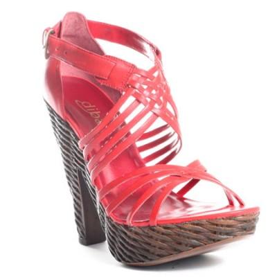 Červené lodičky či sandálky? Modely pro léto 2009 — Botyaobuv ...