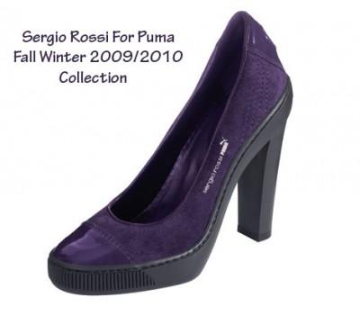 Sergio Rossi vs. Puma - tenisky i podpatky Fall Winter 2009 (http://www.botyaobuv.cz)