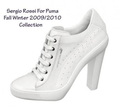 Sergio Rossi vs. Puma - tenisky i podpatky Fall Winter 2009 (http ...