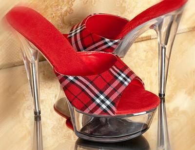 Sexy dámské boty na platformě / Platformy