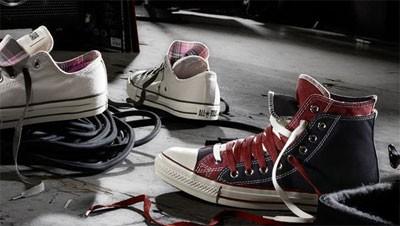 Plátěné boty Converse, Vans i Emily The Strange