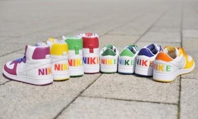 Kotníkové tenisky Nike 2011: Barevný styl pro každého!