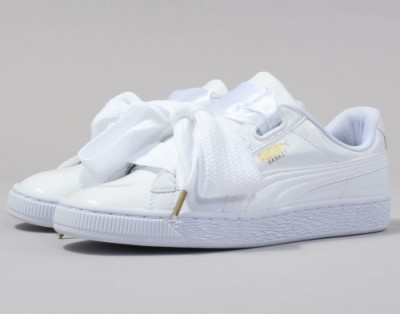 Puma Basket Suede Heart Patent Wn