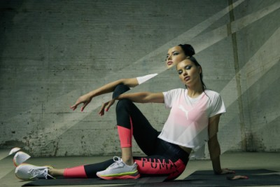 Adriana Lima a Puma LDQ Cell Shatter